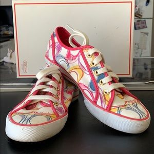 Size 6.5 Woman's Coach Sneakers